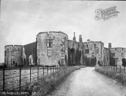 Chirk Castle, Home Of Lord Howard De Waldron c.1930, Chirk