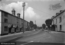 Chirk, Church Street 1953