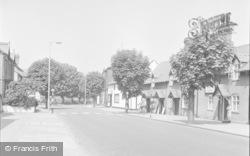 Chirk, Church Street 1959