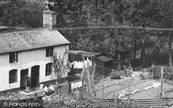 Chirk, Cottage, The Glen 1939