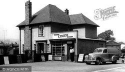 Chirk, E. Rogers Shop, Church View 1955