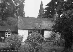 Old Cottage, Chirk Bank 1955, Chirk