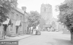 Chirk, St Mary's Church 1955
