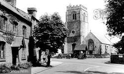 St Mary's Church 1959, Chirk