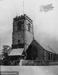 St Mary's Church c.1930, Chirk
