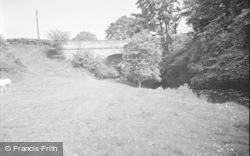 Chirk, Telford's Bridge 1959