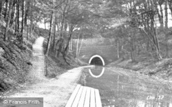 Chirk, The Canal Walk And Tunnel 1931