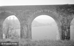 Chirk, The Ceiriog Valley From The Aqueduct 1959