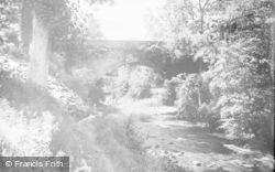 Chirk, The Dee And Bridge c.1930