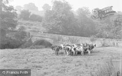 Chirk, The Old Bridge 1955