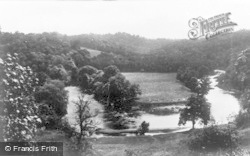 Chirk, The River Dee And Meadows c.1930