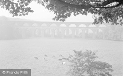 Chirk, The Viaduct And Aqueduct 1953