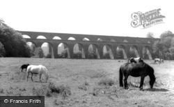 The Viaduct And The Aqueduct 1959, Chirk