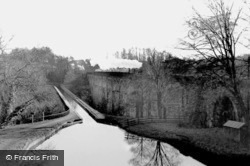 Chirk, Viaduct And Aqueduct c.1955