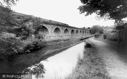 Viaduct And Canal c.1965, Chirk