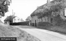 Chiseldon, Badbury c.1960