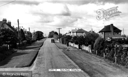 Chiseldon, Butts Road c.1960