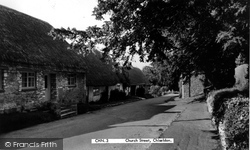 Chiseldon, Church Street c.1960