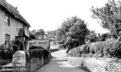 Chiseldon, High Street c.1960