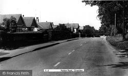 Chiseldon, Hodson Road c.1960