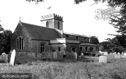 Chiseldon, Holy Cross Church c.1960
