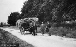 Chiseldon, Horse And Cart In Hodson Road c.1914