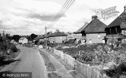 Chiseldon, Station Road c.1960