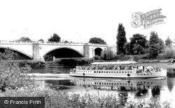 Chiswick, Chiswick Bridge c.1960