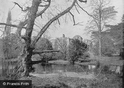 Chiswick House From The Lake c.1895, Chiswick
