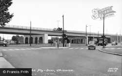 Chiswick, Flyover c.1960