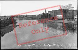 View From Chiswick Bridge c.1960, Chiswick