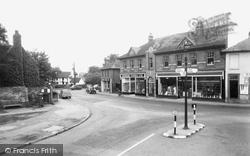 Chobham, Benham's Corner And Cannon Cottage c.1960