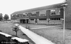 Chobham, County Secondary School c.1960