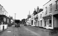 Chobham, High Street c1955