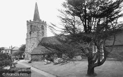 Chobham, St Lawrence Church 1960