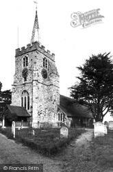 Chobham, St Lawrence Church c.1955