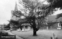 St Lawrence Church c.1960, Chobham