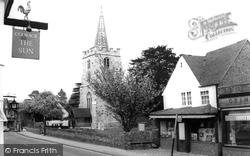 Chobham, St Lawrence Church c.1960