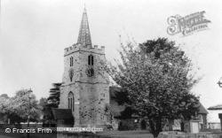 St Lawrence Church c.1965, Chobham