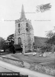 The Church c.1955, Chobham