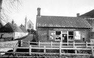 Cholderton, St Nicholas's Church and Post Office c1955