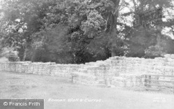 Chollerford, Brunton Turret And Roman Wall c.1955