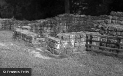 Brunton Turret, Hadrian's Wall 1959, Chollerford