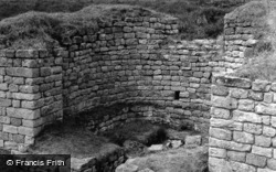 Chesters Roman Fort, Bath House c.1950, Chollerford