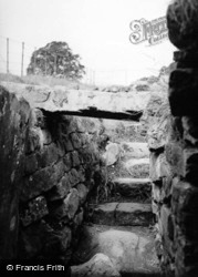 Chesters Roman Fort, From Strong Room In Hq c.1950, Chollerford