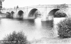 Chollerford, The Bridge c.1955