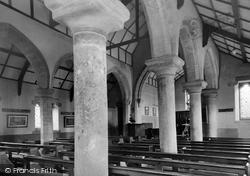 Chollerton, Church Of St Giles, Roman Pillars c.1955