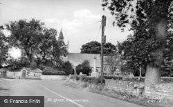 St Giles' Church c.1955, Chollerton
