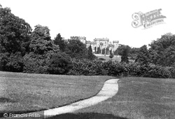 Cholmondeley, The Castle And Park 1898, Cholmondeley Castle