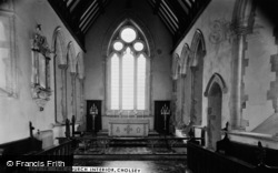 Cholsey, Church Interior c.1960